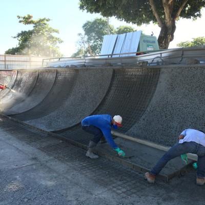 Construção de Pista de Skate